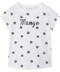 Mango Kids T-shirt - blanc
