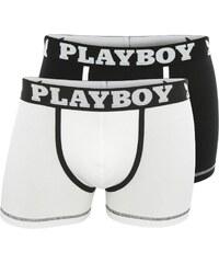 Playboy Homme Classic cool - Lot de 2 boxers - blanc