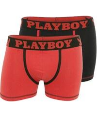 Playboy Homme Classic cool - Lot de 2 boxers - rouge