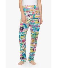 Desigual barevné domácí kahoty Trouser Paisley