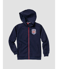 Mikina Puma STYLE ATHL Hooded Sweat Jacket B