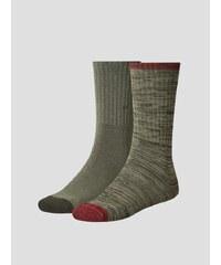 Ponožky LEVI'S 120SF REGULAR CUT 2 Pack