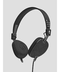 Sluchátka Skullcandy KNOCKOUT ON-EAR W/MIC 3 QUILTED BLACK/BLACK/CHROME