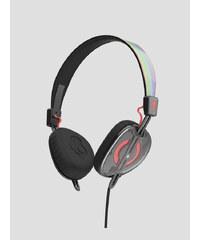 Sluchátka Skullcandy KNOCKOUT ON-EAR W/MIC 2 MASH-UP/MULTI/CORAL