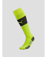 Stulpny Puma Match Socks safety yellow-black