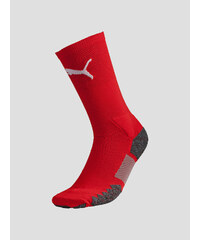 Stulpny Puma Match Crew Socks red-white