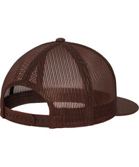 Flexfit Yupoong Classic Trucker Cap brown/white/brown