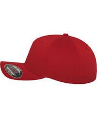 Flexfit 5-Panel Cap red
