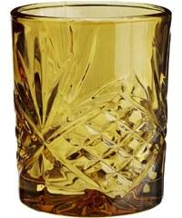 Madam Stoltz Sklenička Glass Amber