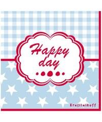 Krasilnikoff Papírové ubrousky Happy day