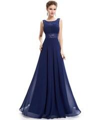 41814f8db21 Ever Pretty Plesové šaty společenské modré 8741
