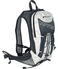 Spokey CAPTOR - Cyklistický a běžecký batoh šedý/stříbrný 2l, voděodolný