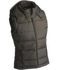 James & Nicholson Pánská zimní vesta s kapucí JN1004