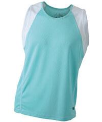 James & Nicholson Pánské běžecké tričko bez rukávů JN395