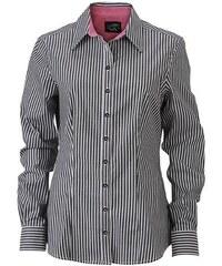 James & Nicholson Dámská pruhovaná košile JN631