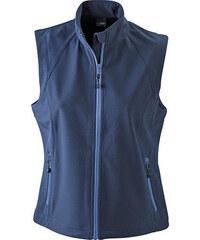 James & Nicholson Dámská softshellová vesta JN1023