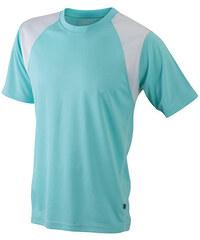 James & Nicholson Pánské běžecké tričko s krátkým rukávem JN397