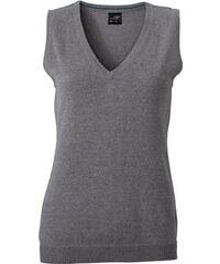 James & Nicholson Dámský svetr bez rukávů JN656