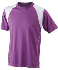 James & Nicholson Dětské sportovní tričko s krátkým rukávem JN397k