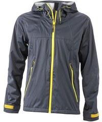 James & Nicholson Pánská softshellová bunda s kapucí JN1098
