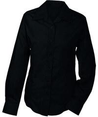 James & Nicholson Dámská košile s dlouhým rukávem JN602