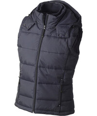 James & Nicholson Dámská zimní vesta s kapucí JN1005