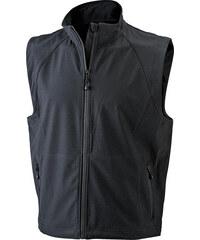 James & Nicholson Pánská softshellová vesta JN1022
