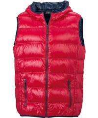 James & Nicholson Lehká pánská péřová vesta JN1062