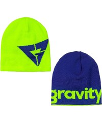 Gravity Logo Reversible lime/blue