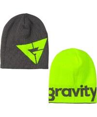 Gravity Logo Reversible grey/lime