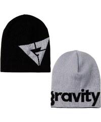 Gravity Logo Reversible black/grey