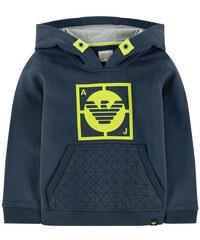 Armani Junior Kapuzen-Sweatshirt mit Motiv