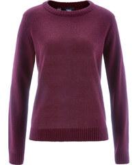 bpc bonprix collection Pullover langarm in lila (Rundhals) für Damen von bonprix