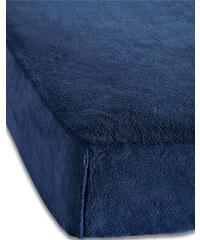 bpc living Spannbettlaken Cashmere Touch in blau von bonprix