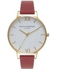 Montre Olivia Burton Big Dial - Red and Gold