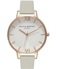 Montre Olivia Burton Big Dial - Grey and Rose Gold