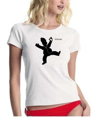 Coole-Fun-T-Shirts T-SHIRT iHomer - DANCE - GIRLY T-SHIRT