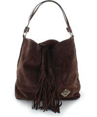 Tmavě hnědá kabelka Carmela 85636