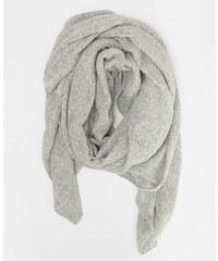 Echarpe oversize gris, Femme, Taille 00 -PIMKIE- MODE FEMME