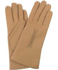 Vystyd Dámské kožené rukavice 1419, velikost 6.5, béžová