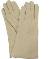 Vystyd Dámské kožené rukavice 1439, velikost 6.5, béžová