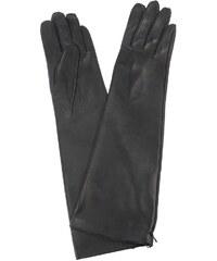 Napa Dámské kožené rukavice, velikost 7.5, černá