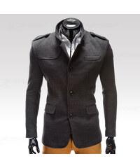 Ombre Clothing Kabát Augustino šedý L