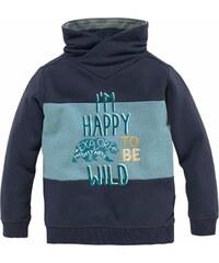 S.Oliver Junior Sweatshirt mit coolem Flockdruck und Stickerei