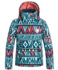 Dětská zimní bunda Roxy Jetty girl JK kana stripe_legion blue XL