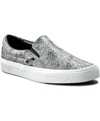 Turnschuhe VANS - Classic Slip-On VN00018DGZN (Pebble Snake) Gray/Black