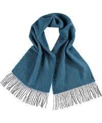 FRAAS Mohair-Mix-Schal mit puristischem Design in petrol