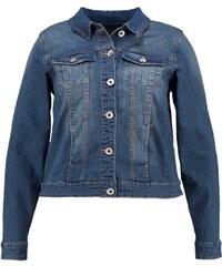 Zizzi Veste en jean blue denim