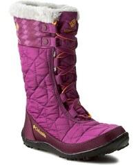 Sněhule COLUMBIA - Youth Minx Mid II Waterproof Omni-Heat BY1336 Intense Violet/Flame Orange 519