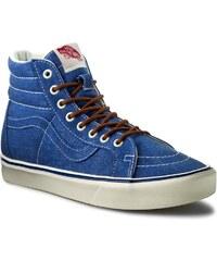 Sneakersy VANS - Sk8-Hi Lite+ VN0004PAIXD (Vintage) True Blue